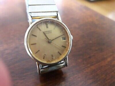 $ CDN21.99 • Buy Ladies Vintage Seiko Watch With Calendar Date