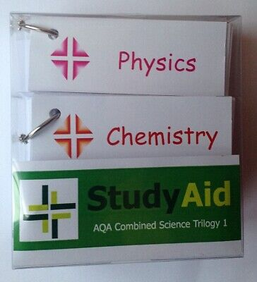 £5.99 • Buy GCSE AQA Combined Science Trilogy 1 (9-1) Revision Flash Cards