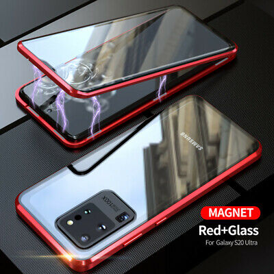 $ CDN6.47 • Buy Full Magnetic Tempered Glass Case Cover For Samsung Galaxy Note 10 Plus S10 S9