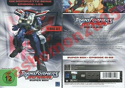 £29.99 • Buy DVD TRANSFORMERS ARMADA COMPLETE ANIMATED TV SERIES 52 EPISODES Region 2 PAL NEW