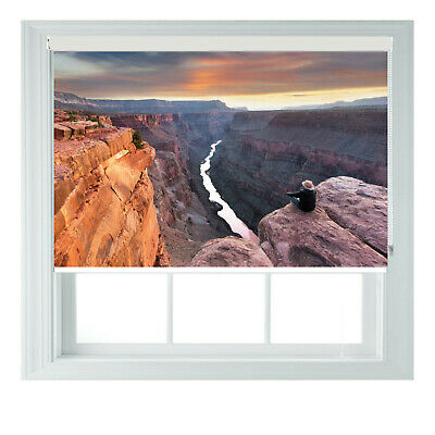 Grand Canyon USA Printed Photo Black Out Roller Blinds 2 3 4 5 6ft • 65£