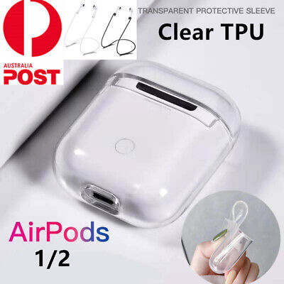 AU7.39 • Buy Shockproof For Apple AirPods Case Cover Skin Slim Soft TPU Holder Airpod Case AU