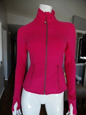 $ CDN99.99 • Buy LULULEMON Hot Pink Hustle In Your Bustle Jacket 4