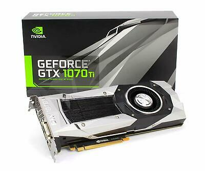 $ CDN654.19 • Buy Nvidia GEFORCE GTX 1070 Ti - FE Founder's Edition - 8 GB Memory!!!!