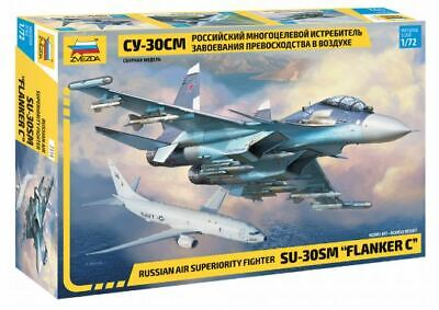 Zvezda 1/72 SU-30SM  Flanker C  Russian Air Superiority Fighter # 7314 • 20.44£