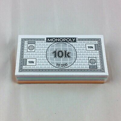 U-Build Monopoly Game Money Stack Replacement Parts  • 4.99$