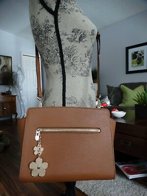 $ CDN105 • Buy NWOT DANIER Saffiano Leather Cross Body Bag