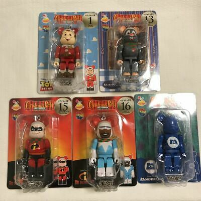 $84.99 • Buy Happy Lot BE@RBRICK Bear Brick Christmas Party Disney Pixar 5 Type Award Woody