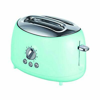 $32.89 • Buy Brentwood Appliances Ts-270bl Cool-touch 2-slice Retro Toaster With Extra-wide