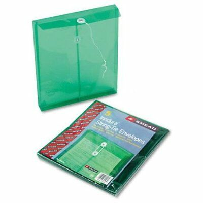 Smead 89543 Green Poly Envelopes With String-tie Closure - Letter - 8.50  X 11  • 12.16£