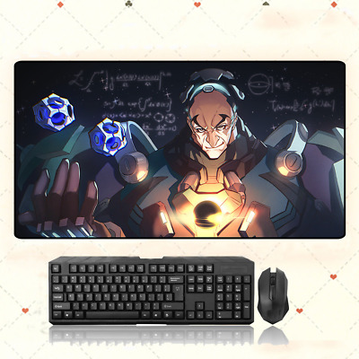 AU33.49 • Buy OW GAME Overwatch Sigma Extra Large Mouse Pad Free Shipping(32'' * 16'')