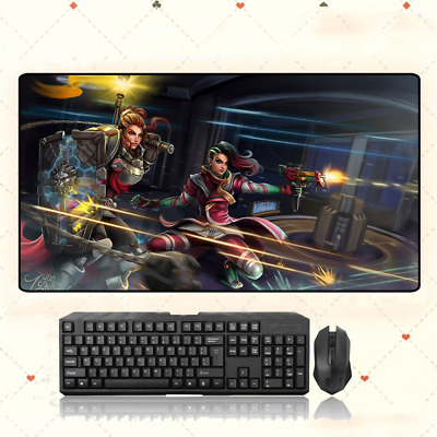 AU28.42 • Buy GAME Overwatch Brigitte Extra Large Mouse Pad Free Shipping(31.5'' * 15.7'')