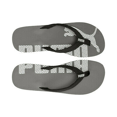Puma Epic Flip Flops Mens Black Summer Footwear Beach Pool Bnwt - New • 13.95£