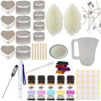 £35 • Buy Candle Making Kit - Complete Set Sweet Soy Wax Melt Fragrance Glitter Colour