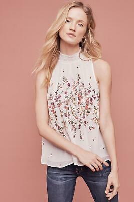 $ CDN68.02 • Buy (NWOT ANTHROPOLOGIE FLOREAT SOTRA TANK, Sz S(PETITE)