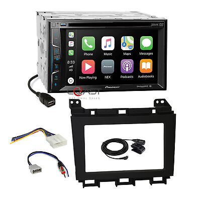 $325.95 • Buy Pioneer DVD Carplay GPS Ready Stereo Dash Kit Harness For 2009-up Nissan Maxima