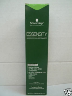 Schwarzkopf ESSENSITY FASHION & COVER Ammonia Free Permanent Hair Color ~ 2.1 Oz • 4.56£