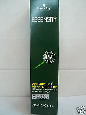 NEW Schwarzkopf ESSENSITY PHYTOLIPID Ammonia Free Permanent Hair Color ~ 2 Oz • 6.49£