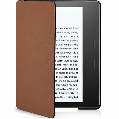AU19.82 • Buy Kindle Oasis 2019 Case Cover Shell Ultra Slim Light Brown + Stylus Protector