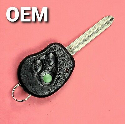 $69.99 • Buy WORN OEM Toyota Keyless Remote Head Key 3B Transmitter W / New Blade - ELVAT6B