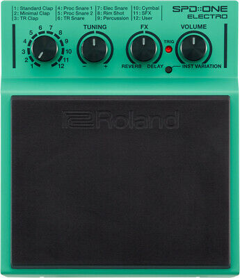 AU238.94 • Buy Roland SPD::ONE ELECTRO Percussion Pad