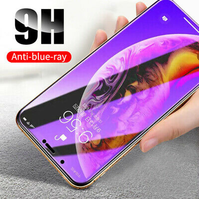 AU6.66 • Buy 2x IPhone 13 12 11 6 7 8 X XR XS Anti Blue Matte Tempered Glass Screen Protector