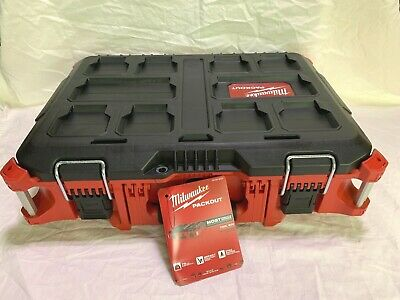 View Details (1) Milwaukee Packout Tool Boxes 48-22-8424 (New In Packaging) NEW • 63.95$