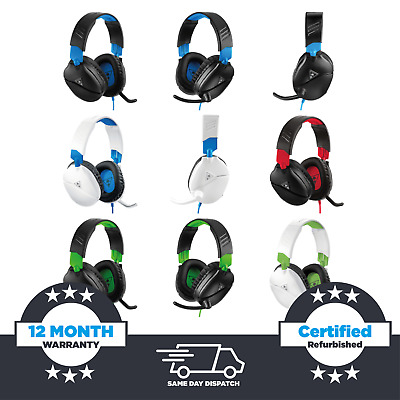 £17.99 • Buy Turtle Beach Recon 70 (70P/70X) Gaming Headset - PS4, Xbox One, Nintendo Switch