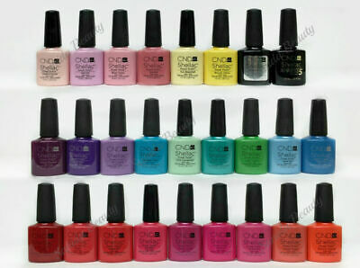 AU5.15 • Buy CND SHELLAC Power Polish UV Gel Nail Color Coat-U PICK COLOR - Series 1