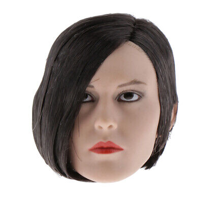 $33.81 • Buy MagiDeal 1:6 Female Head Model For 12'' Enterbay  Hot Toys Black