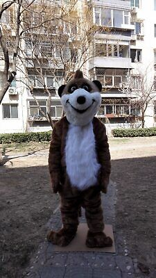 Meerkat Mongoose Mascot Costume Cosplay Party Game Dress Outfit Halloween Fancy • 256.50£