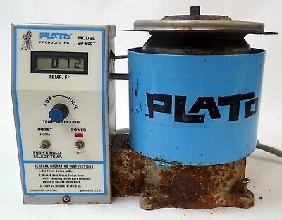 £216.62 • Buy Plato Solder Pot Model Sp-500t For Lead-free Soldering Tested And Working