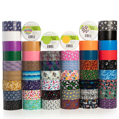 $5.99 • Buy Simply Genius Duct Tape Roll Colors Patterns Designs Craft Supplies Kids Adults