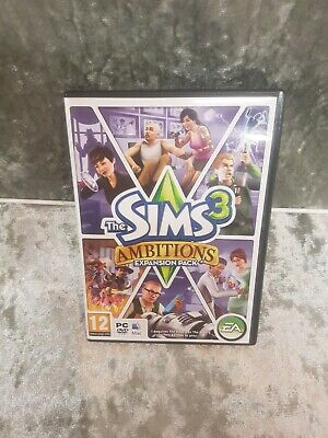 The Sims 3: Ambitions Expansion Pack For PC Or Mac With Internal Booklet • 1.99£