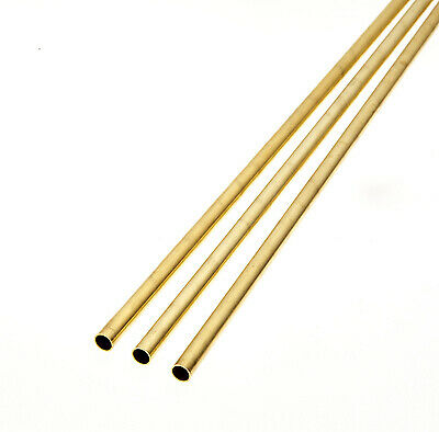 £4.19 • Buy Albion Alloys - 305mm Brass Tube 1mm X 0.25mm X 0.5mm (4 Pieces) # BT1M