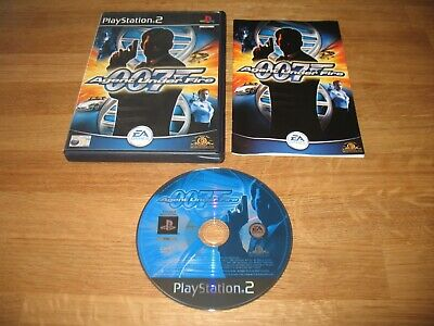 PS2 Game - 007 Agent Under Fire James Bond (complete PAL) • 1.99£