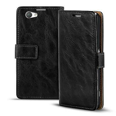 AU11.96 • Buy Mobile Phone Case Case Sony Xperia Z1 Compact Case Flip Case PU Leather Wallet