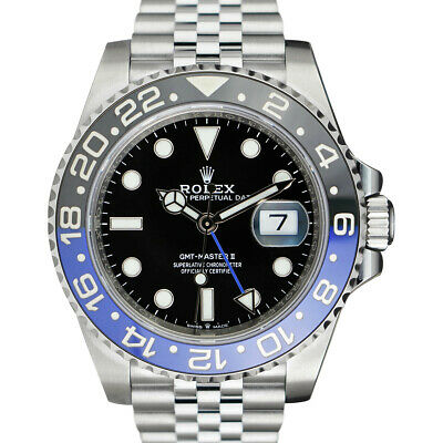 $ CDN22493.90 • Buy ROLEX - 2020 SS GMT Master II Blue Black CERAMIC 126710 BLNR Batman - SANT BLANC