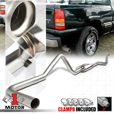 $256.87 • Buy SS 3  Catback Exhaust System For 99-07 Silverado/Sierra 1500 Ext/Crew Short Bed