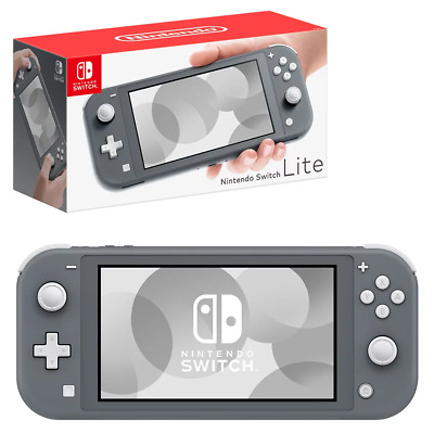 AU310.95 • Buy Nintendo Switch Lite Grey Console NEW