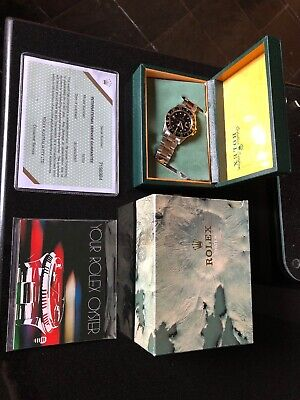 $ CDN17725.58 • Buy Rolex 16753 Nipple Dial Two Tone GMT Oyster Bracelet. Original Box And Book 1982