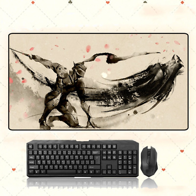 AU33.49 • Buy GAME Overwatch Genji Extra Large Mouse Pad Free Shipping(31.5'' *15.7'')