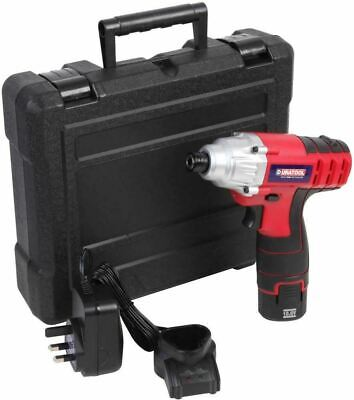 10.8V 1.3Ah Li-Ion Battery Cordless Electric Impact Driver 2 Speed + Carry Case • 55.99£