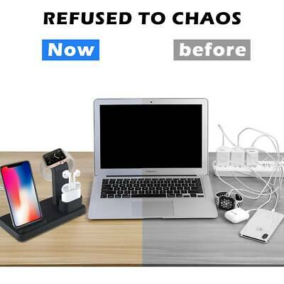 $ CDN30.09 • Buy 3in1 Wireless Fast Charger Dock Stand For Apple Watch Airpods IPhone