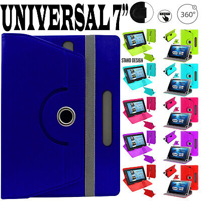 Leather Smart Protective Case Cover For Amazon Kindle Fire HD 8 , 7  Inch 2017 • 7.48£