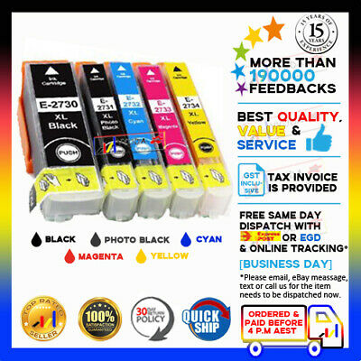 AU15 • Buy 10x NON-OEM 273XL Ink Alternative For Epson XP510 XP520 XP600 XP610 XP620 XP700
