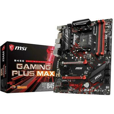 AU249 • Buy MSI B450 GAMING PLUS MAX AMD AM4 ATX DDR4 Gaming Motherboard HDMI USB 3.1 M.2