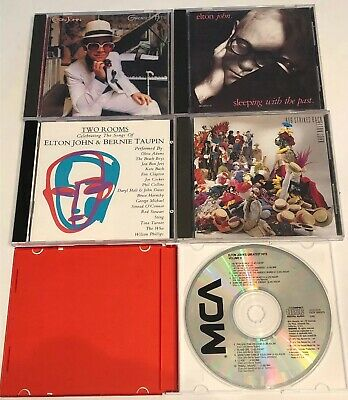 $ CDN24.62 • Buy Great Mix Variety Lot Of 5 Elton John Cds Greatest Hits Sleeping With The Past +