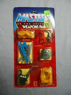 $49.99 • Buy 1983 Mattel Masters Of The Universe He-Man Weapons Pak New In Package (A) 7303