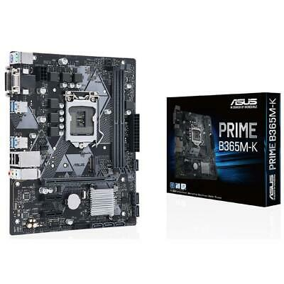 AU140 • Buy Asus PRIME B365M-K Intel LGA1151 MATX Gaming Motherboard DDR4 HDMI USB 3.1 M.2